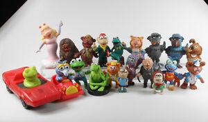 Muppet Show === 20 x Muppets Figuren Kermit Miss Piggy u.a.