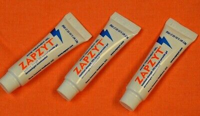 3x Zapzyt Acne Treatment Gel 0.25oz - Sample Sizes Perfect For Traveling Too!