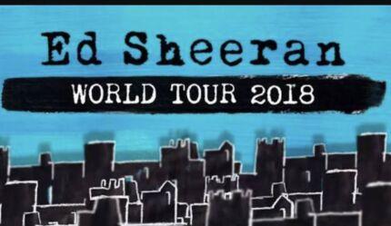 Ed Sheeran Tickets Wanted