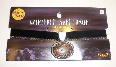 Hocus Pocus Winifred Sanderson Cosplay Costume Necklace Choker EYE BALL Disney - Hocus Pocus Cosplay