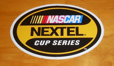 Nascar Nextel Cup Series Sticker Original Promo (oval) 6x4  segunda mano  Embacar hacia Argentina