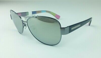 Hard Candy Women's Sunglasses Aviator Mirrored Gun Metal Rx Able (Candies Prescription Sunglasses)