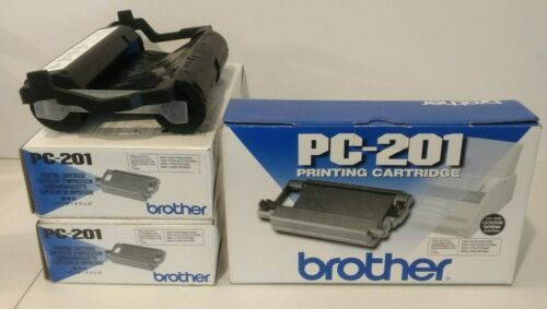Brother PC-201 Printing Cartridges Lot Of 4