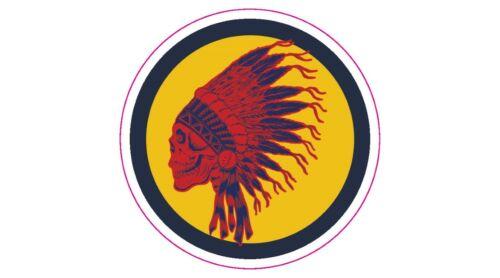 "Grateful Dead Inspired Seminole Logo Golf Decal - 2.25"" Circle"