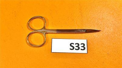 Padgett P-6815 Tc Iris Tissue Scissors Straight Sharpsharp 4-12 114 Mm