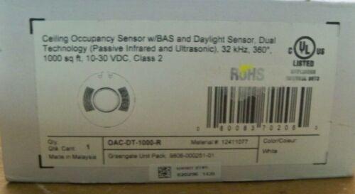 NEW Greengate Ceiling Occupancy Sensor w/BAS & Daylight Sensor OAC-DT-1000-R