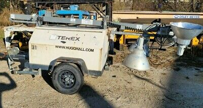 2009 Terex Rl4000 Portable Tower Light Wkubota Diesel Engine