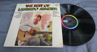 LAURINDO ALMEIDA -THE BEST OF LAURINDO ALMEIDA- MEXICAN LP BOSSA