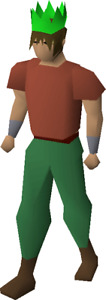 Runescape Green Party Hat