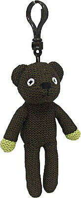 Mr Bean's Teddy keyring / clip beanie bear by Ty - 12cm tall - 46203