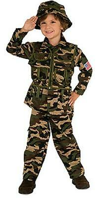 Green Soldier Halloween Costume (NEW NIP Commando Soldier Green Camo Camouflage Toddler Halloween Costume)