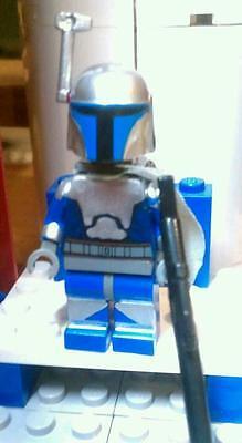 Lego Star Wars Jango Fett Mandolorian Mercenary Personalisiert Minifigur