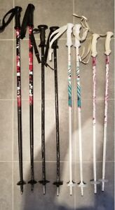 ***** Kids Ski Pole 85 cm  (White) *****