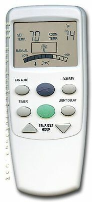 Hampton Bay Replacement Ceiling Fan Remote Control FAN9T W/ REVERSE Thermostatic