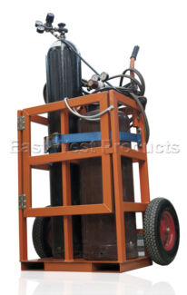 GAS BOTTLE TROLLEY 2 Cylinder BRAND NEW Brookvale Manly Area Preview