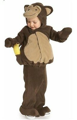 5 Girl Halloween Costumes (NEW NWT OLD NAVY MONKEY PLUSH BOY GIRL HALLOWEEN COSTUME 0-6 6-12 12-24 2-3)
