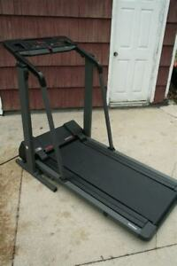 Treadmill. Low profile. Folds up easily.$225 or best offer.