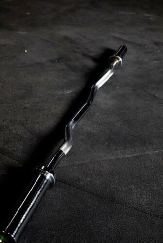 FRAY FITNESS COMMERCIAL Olympic EZ Curl Bar Home Gym Barbell 🔥 450 Capacity