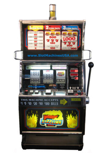 IGT Sizzling 7s Slot Machine For Sale