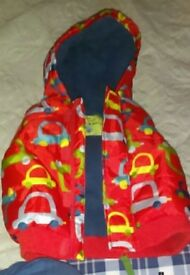 Baby boys hooded gilet