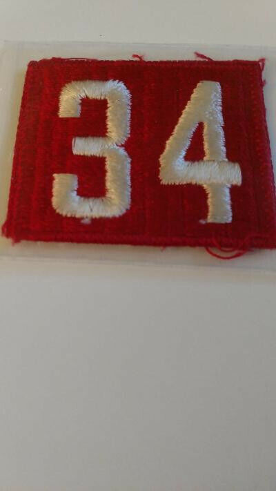 BSA, Red and White unit number 34