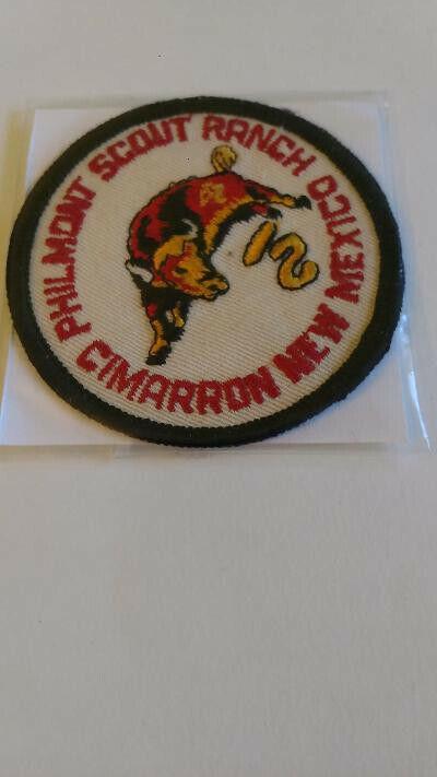 "BSA, Philmont Scout Ranch, Cimarron, New Mexico, 3"" Dia, Round Patch"