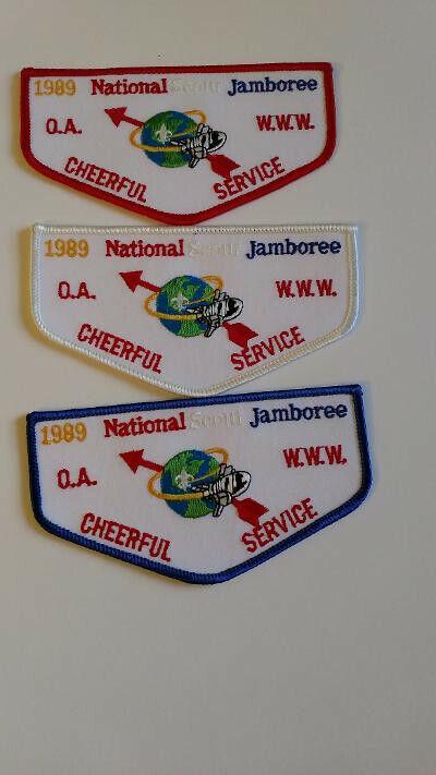 OA, 1989 Natonal Scout Jamboree, Cheerful service