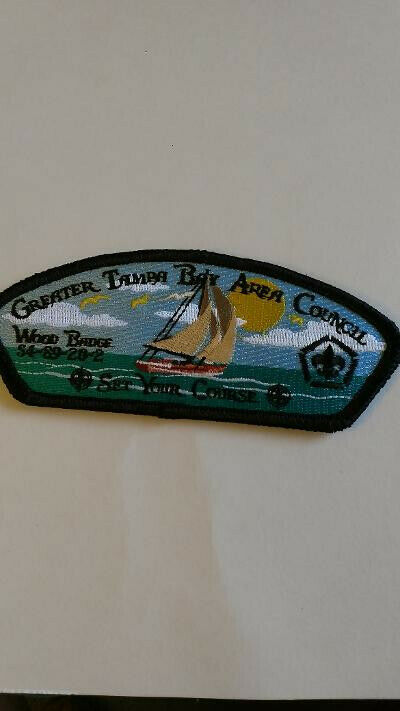 BSA, Greater Tampa Bay Area Council, CSP, Wood Badge S4-89-20-2