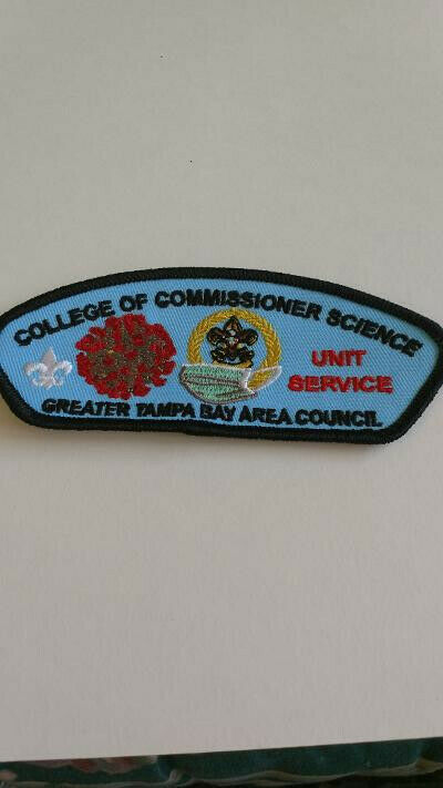 BSA, Greater Tampa Bay Area Council, CSP, College of Commissioner Science