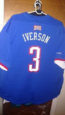 Allen Iverson 2004 NBA All Star East Mitchell & Ness Mesh Crew Neck Jersey 52 XL