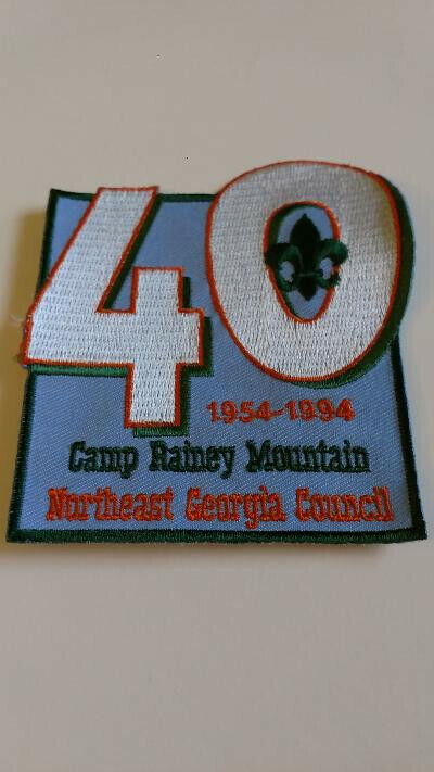 BSA, Camp Rainey Mountain, Northeast Georgia Council, 40th anniversary, 1954-94