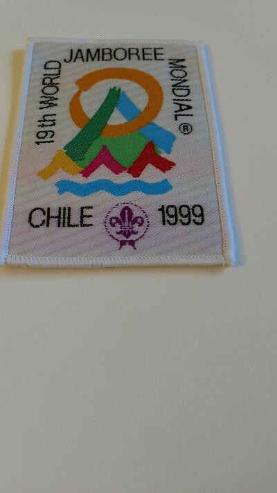BSA, 19th World Jamboree Mondial, Chile 1999