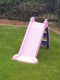 Pink infant slide