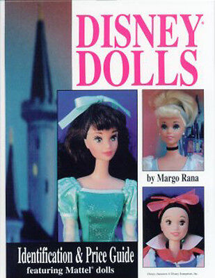 DISNEY DOLLS IDENTIFICATION & VALUE GUIDE BOOK Mattel Dolls + Foreign versions