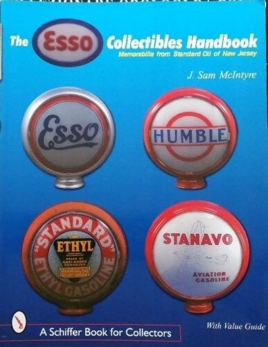 Antique Esso Gas Station Collectibles Price Guide Book