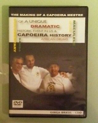 THE MAKING OF A CAPOEIRA MESTRE  DVD