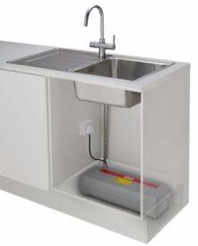 Franke - Minerva 3-in-1 Tap + Heating Tank + Filter Housing Kit