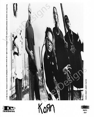 Korn Photo Jonathan Davis Press Promo 8x10 1998