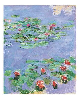 Water Lilies, c. 1914-1917 by Claude Monet Art Print Landscape Poster 11x14