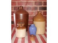 flagon vintage jars ornaments garden