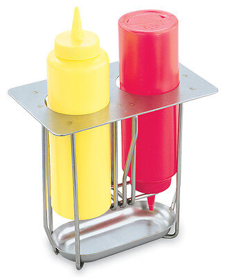 Vollrath 56116 19th Size Condiment Squeeze Bottle Holder Stainless