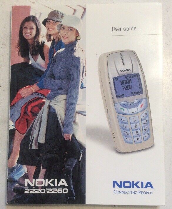 Nokia 2220 / 2260 User Guide Manual PreownedBook.com ElectronicsRecycled.com