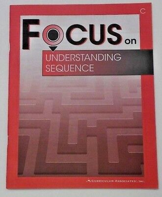Reading Comprehension Focus: Understanding Sequence 3rd-5th Grade 3 4 5