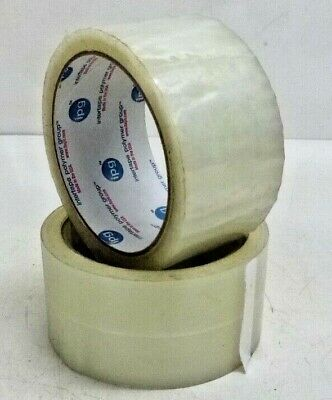IPG Carton Sealing Clear Packing/Shipping/Box Tape- 2 Mil- 2