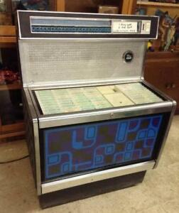 1960s 70s Space Age Jukebox Rowe AMI