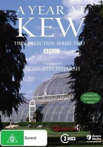 A Year At Kew: Series Season 2 (DVD, 2015, 2-Disc Set), NEW SEALED REGION 4