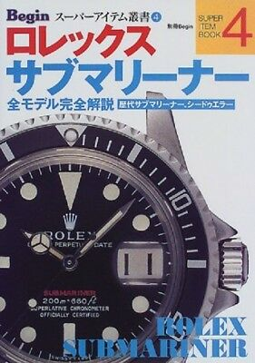 "Rolex Submariner (Begin Super Item Series (4)) Mook - 1999/8 Contents (from ""MAR"