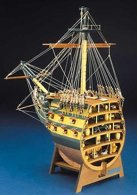 """Beautiful, new wooden model kit by Mantua Panart: the """"HMS Victory"""" Bow Section"""