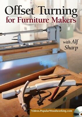 Offset Turning for Furniture Makers with Alf Sharp [DVD]