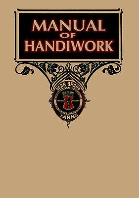 Винтажные Bear Brand Manual #9 c.1908